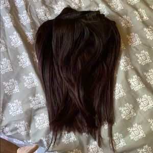 Accessories - Human hair extensions.